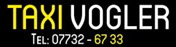 Taxi Vogler - Unsere Leistungen
